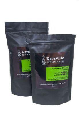 Изображение Кава натуральна COLOMBIA SUPREMO, 100 грамів