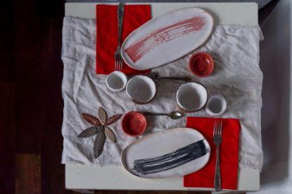 Зображення Японська керамічна тарілка