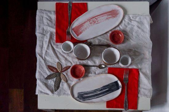 Изображение Японская керамическая тарелка