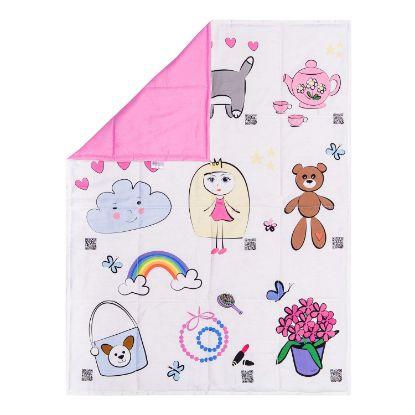 Зображення Дитяча ковдра TOY STORIES рожеве