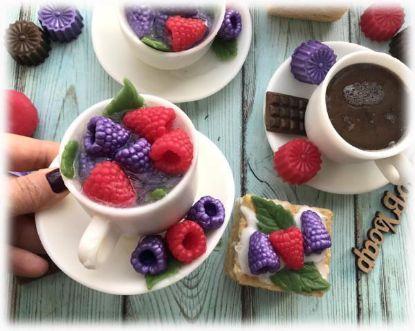 """Зображення Набір мила """"Чашка чаю з ягідками"""""""