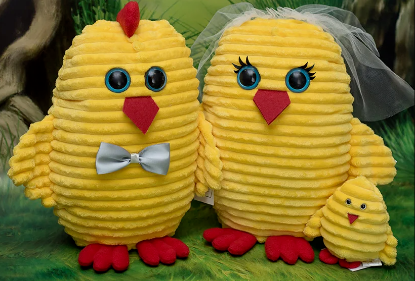 Зображення М'яка іграшка «Курча»