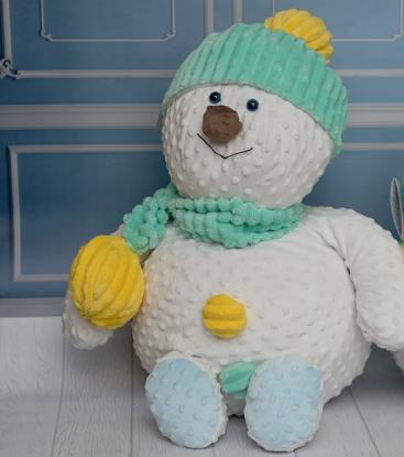 Зображення Мягкая игрушка «Снеговик»
