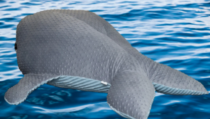 Зображення Мягкая игрушка «Огромный кит»