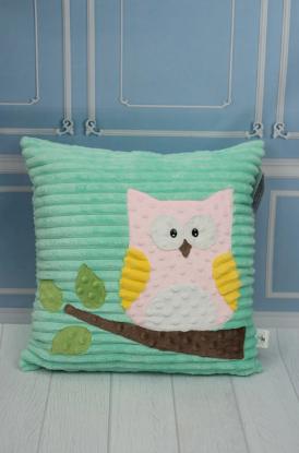 Зображення Декоративная подушка «Сова»