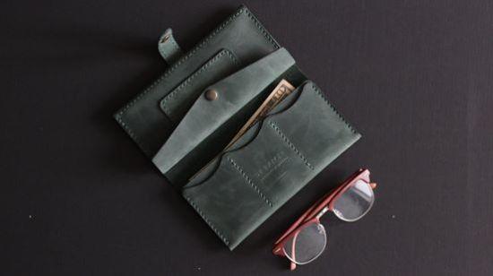 Изображение Кожаный кошелек Long Wallet L1
