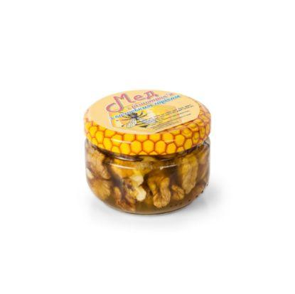 Изображение Мед с грецкими орехами