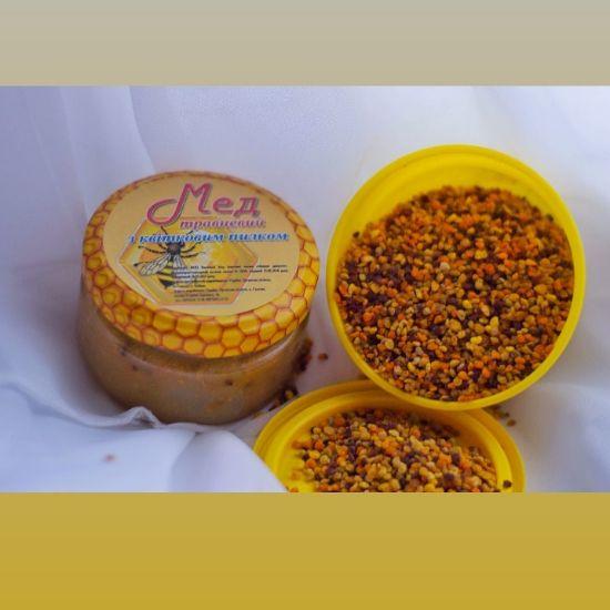 Зображення Мед з квітковим пилком