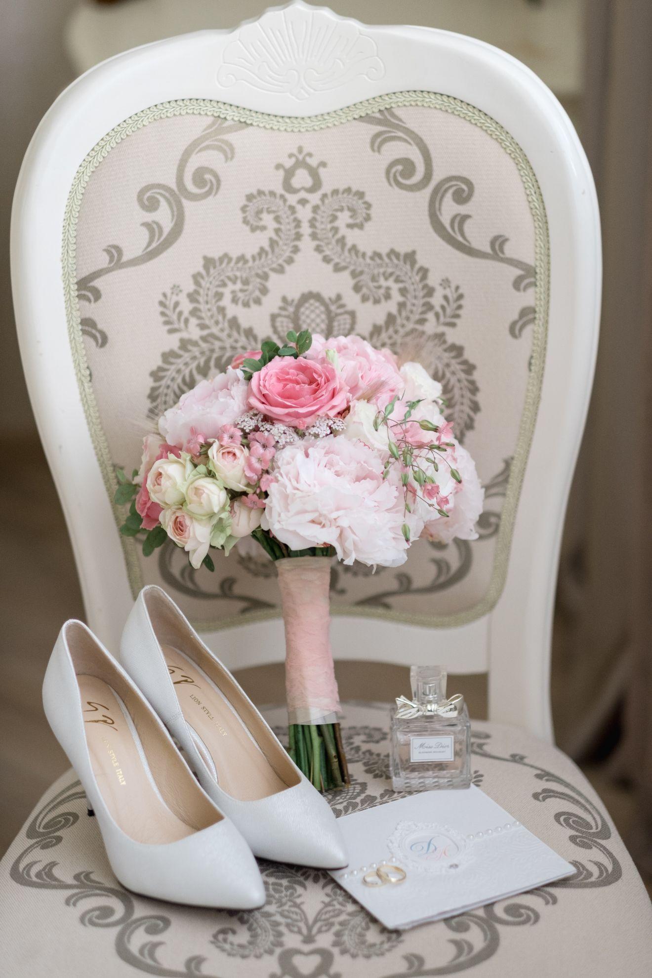 Жіноче весільне взуття