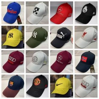 Бейсболки і кепки