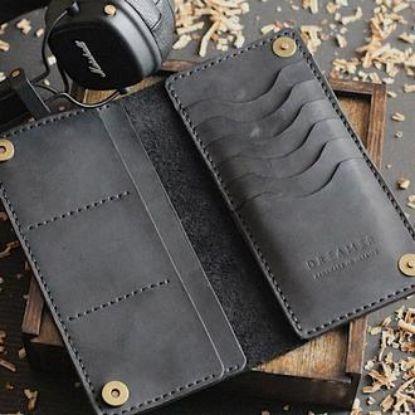 Зображення Шкіряний портмоне Long Wallet B1