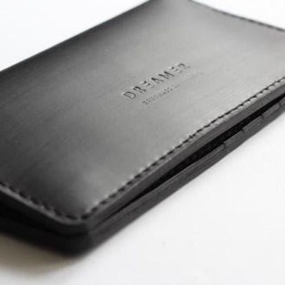 Зображення Шкіряний клатч портмоне з натуральної шкіри