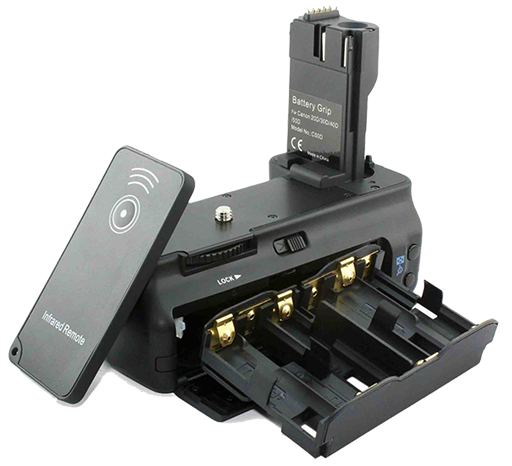 Батарейні блоки для фото-, відеокамер