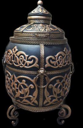Зображення Тандир «Великий» чорно-золотий