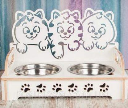 Зображення Підставка з мисками для тварин