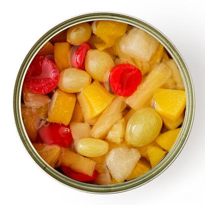 Консервовані фрукти і ягоди
