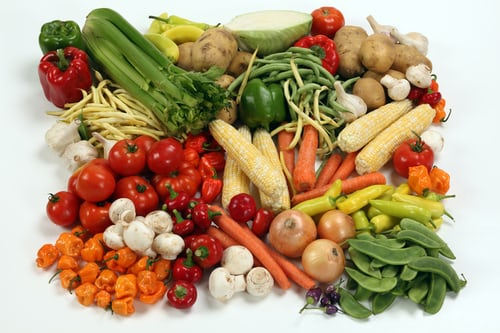 Овочі, фрукти, ягоди, гриби