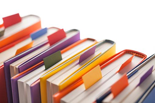 Закладки для книг, наліпки