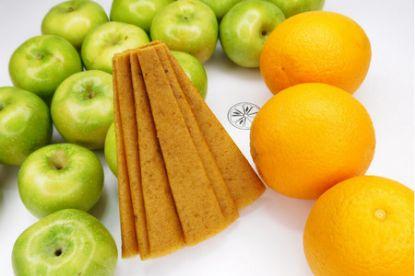 Изображение Пастила яблоко-апельсин 50 г.