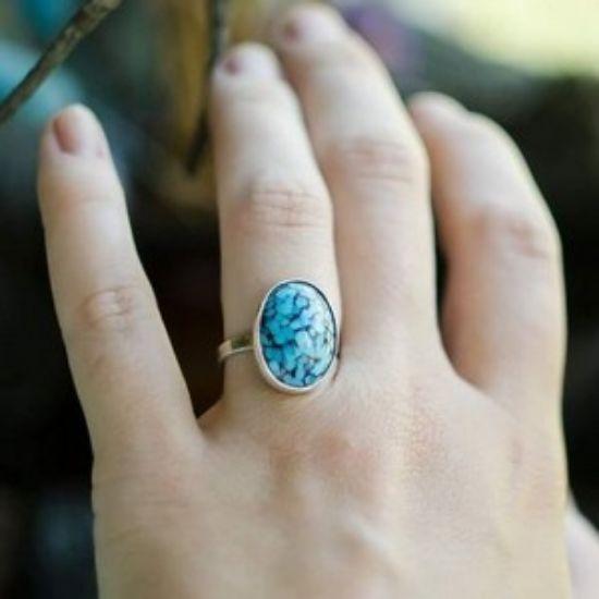 Изображение Кольцо с ювелирным стеклом
