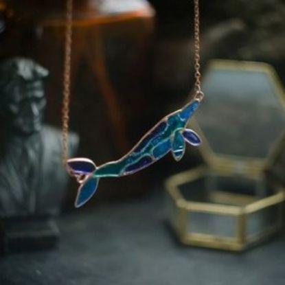 Изображение Кулон в виде кита