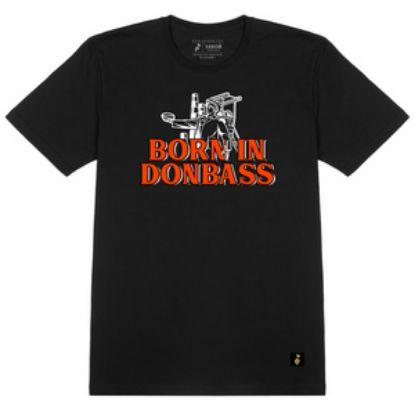 """Зображення Футболка """"Born in Donbass"""""""