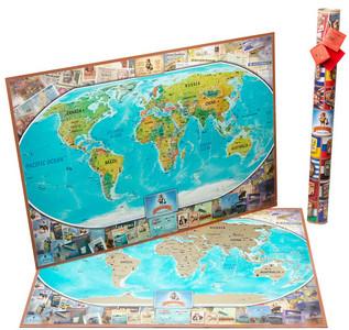 Скретч-карти подорожей