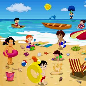 Пляж для детей